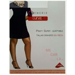 PACK COMBINA 3 PANTYS CHERIE 5545 PANTY SUPER-ADAPTABLE TALLAS GRANDES SIN PIEZA CON PUNTERA INVISIBLE