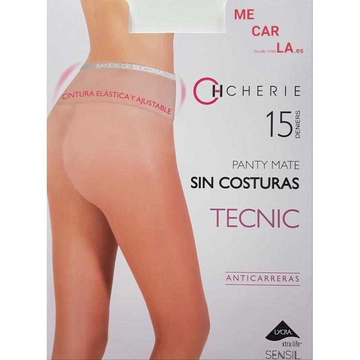 PANTY MATE SIN COSTURAS ANTICARRERAS 15 DEN CHERIE 5816