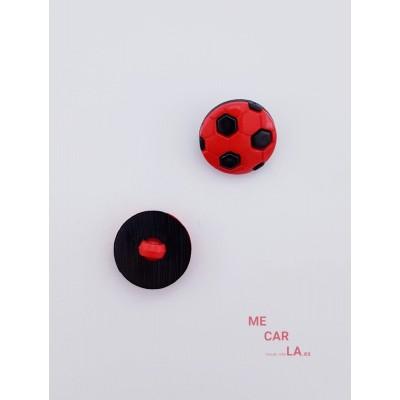 Botón Infantil Fantasía Balón Fútbol