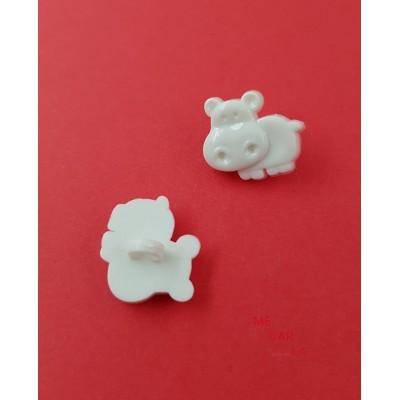 Botón Infantil Fantasía Vaca