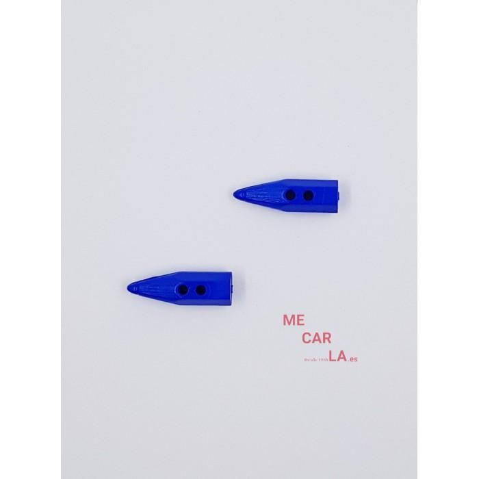 Botón Infantil Lápiz Azul