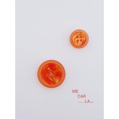 Botón naranja matizado
