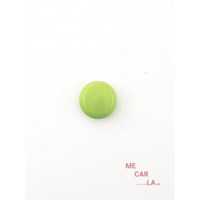 Botón media bola verde