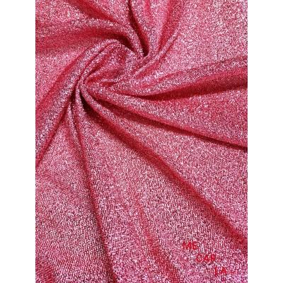 Tela de lamé grueso 150 cm Rosa