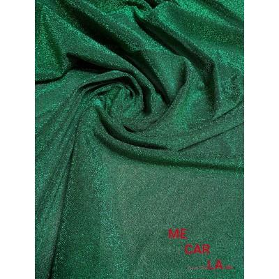 Tela de lamé 150 cm Verde