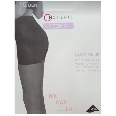 CHERIE 5510 PIN UP-15 PANTY REDUCTOR CON PUNTERA INVISIBLE