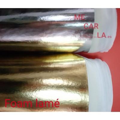 Foam Lamé 150 cm Pieza 25m