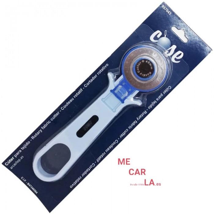 Cutter rotativo Patchwork Cortar Tejidos Ø45 mm COSE