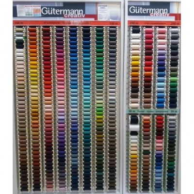 Hilo Gutermann mismo color del boton 100% Poliester